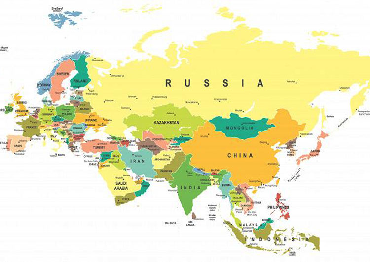 How Is The Border Between Europe And Asia Defined