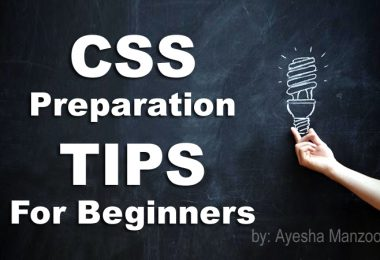 CSS Preparation TIPS For Beginners