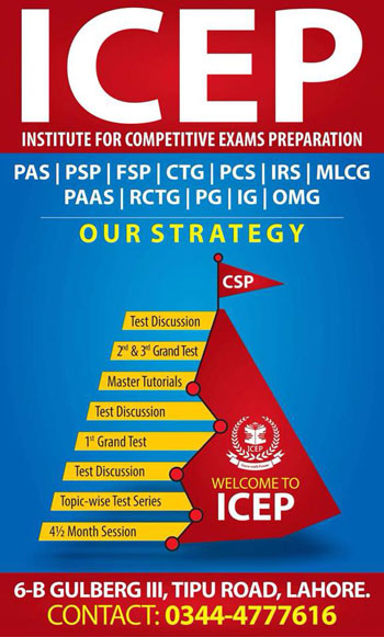 ICEP Institute for CSS PMS