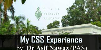 My CSS Experience by Asif Nawaz