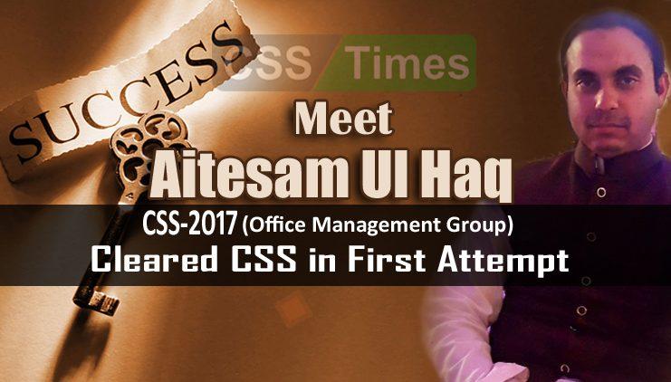 Aitesam-Ul-Haq Mughal