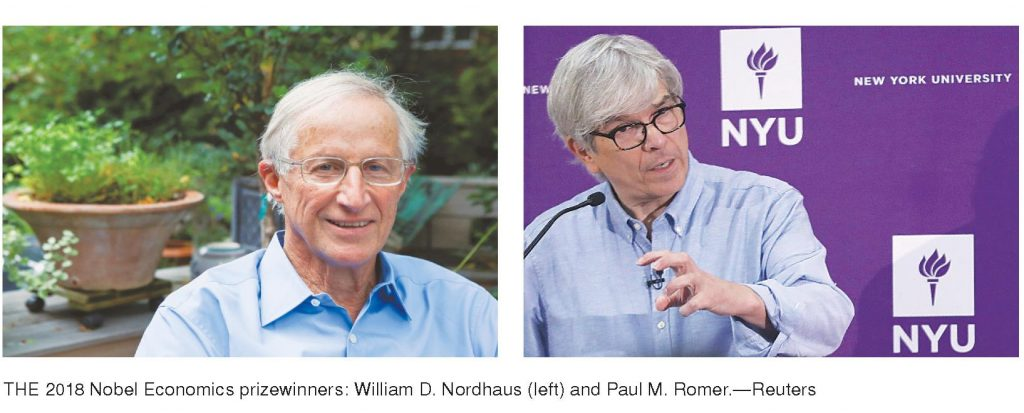 American duo win Nobel Economics Prize