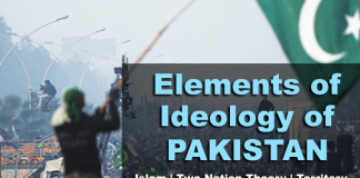 ELEMENTS OF IDEOLOGY OF PAKISTAN