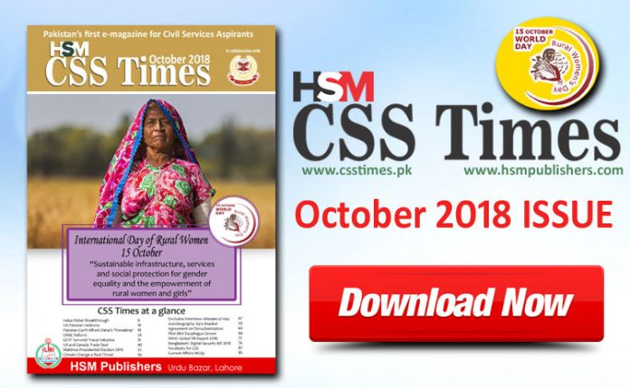 HSM CSS Times October 2018 Issue