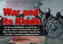 War and its Kinds | CSS International Relations / Current Affairs