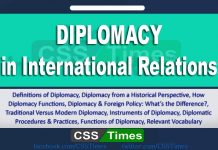 Diplomacy in International Relations