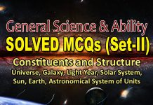 Constituents and Structure Solved MCQs (Set-II) | General Science & Ability