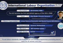 International Labour Organisation copy