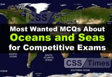 Most Wanted MCQs About Oceans and Seas for Competitive Exams