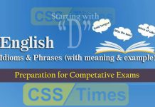 """Idioms And Phrases (""""Set-C"""") 