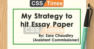 My Strategy to hit Essay Paper