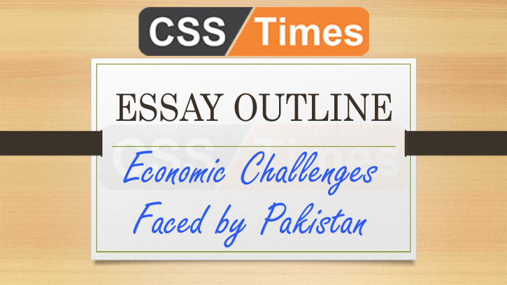 essay on challenges for pakistan
