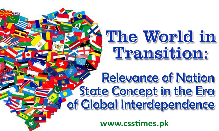 Relevance of Nation State Concept in the Era of Global Interdependence