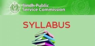 SPSC CCE 2019 Syllabus