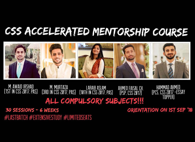 CSS Accelerated Mentorship Course with 5 CSS Toppers