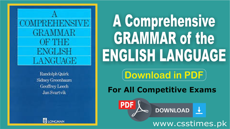 A Comprehensive GRAMMAR of the ENGLISH LANGUAGE (Download in