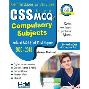 CSS Solved MCQs for Compulsory Subjects