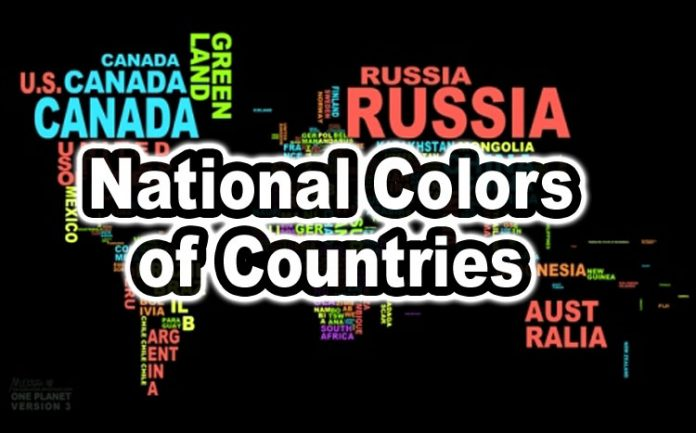 National Colors of Countries
