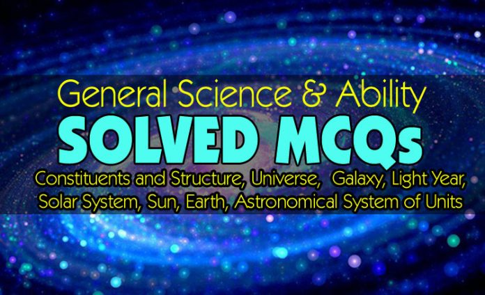 Constituents and Structure General Science MCQs for FPSC Exams