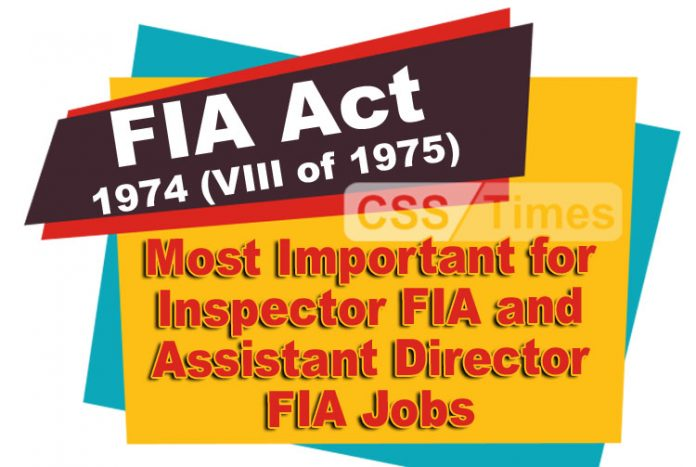 Additional Director FIA, jobs
