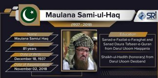 Maulana Sami ul Haq Assassination