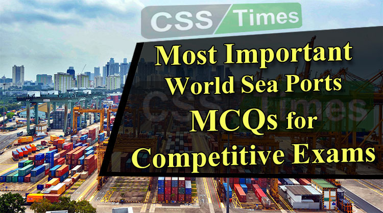Most Important Sea Ports of the World