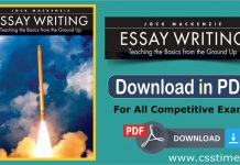 Essay Writing book download in PDF