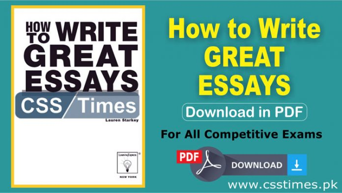 How to Write Great Essays Book in PDFHow to Write Great Essays Book in PDF