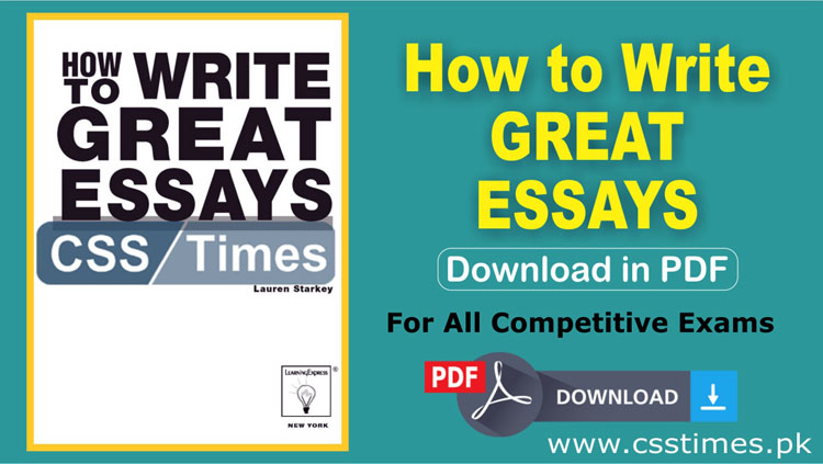 English Creative Writing Essays  Science And Literature Essay also Political Science Essay How To Write Great Essays  Download Complete Book In Pdf English Literature Essays