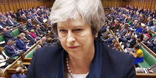 Parliament sinks May`s Brexit deal by 230 votes