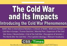 The Cold War and Its Impacts - Introducing the Cold War Phenomenon