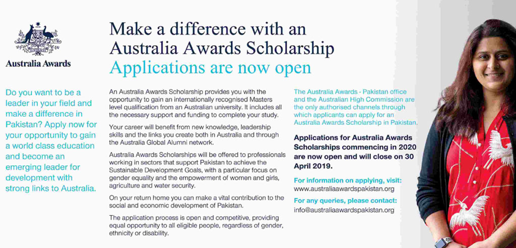 Australia Awards Scholarship For Pakistani Students