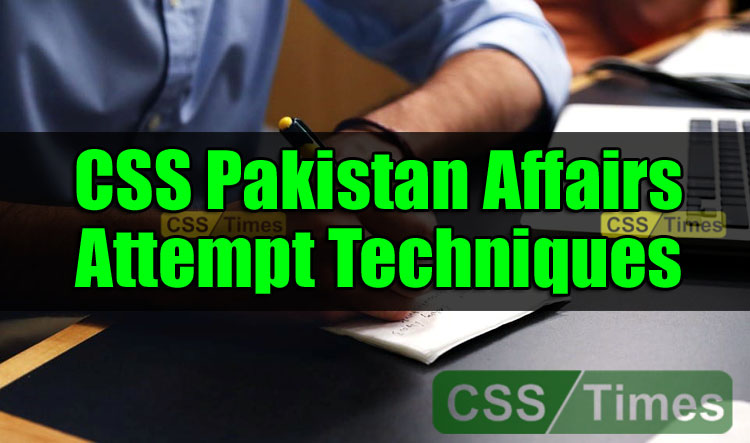 CSS Pakistan Affairs, Pakistan Affairs Paper 2019, Pakistan Affairs CSS Paper