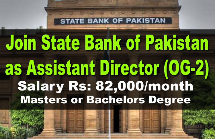 State Bank of Pakistan Jobs | Join SBP as Assistant Director