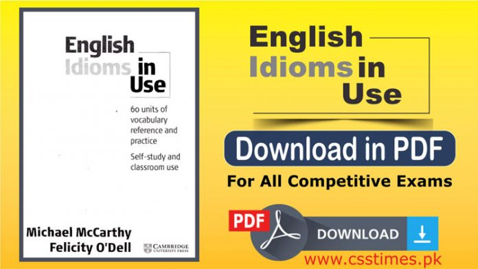 English Idioms in Use Download in PDF