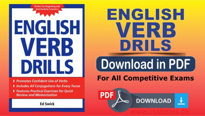 English Verb Drills Download Complete Book in PDF