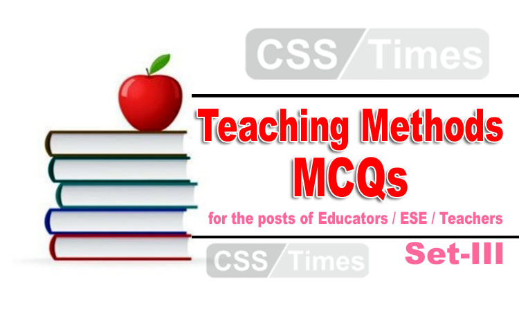 Teaching Methods MCQs for Educators