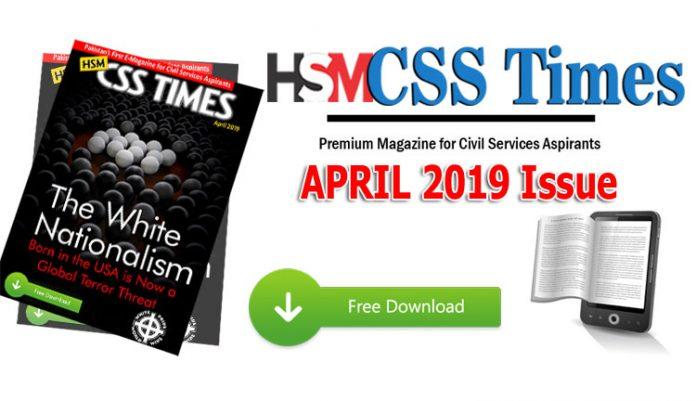 CSS Times April 2019 PDF
