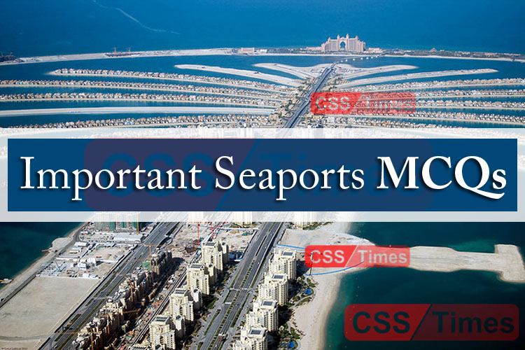 Important Seaports of the World MCQs