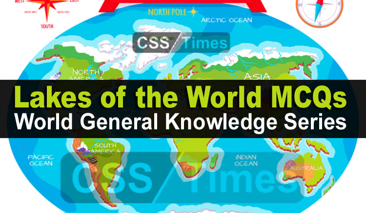 Oceans and Seas MCQs - World General Knowledge Series