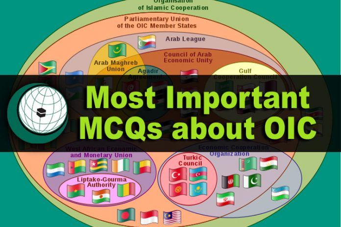 Most Important MCQs about OIC
