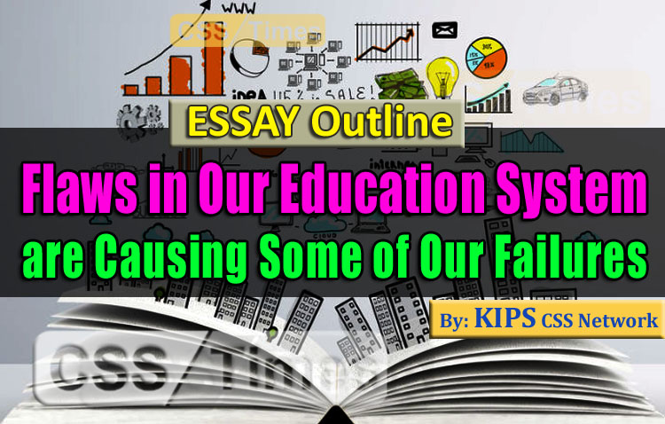 Flaws in Our Education Syste are Causing Some of Our Failures