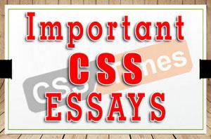 Important CSS Essays