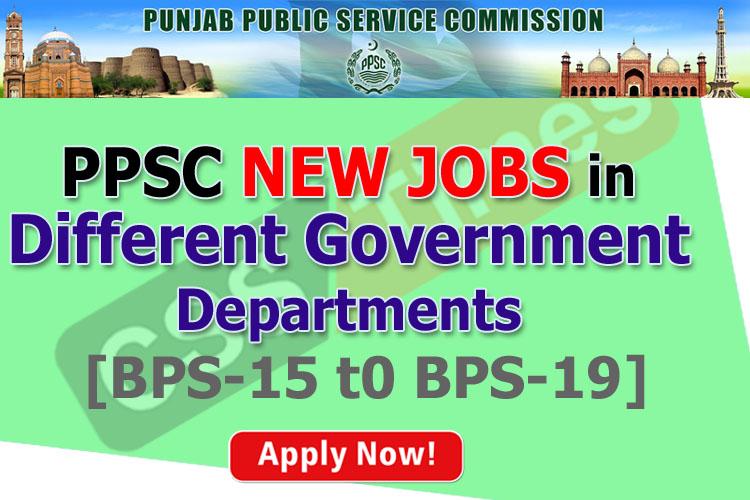 PPSC Advertisement No. 25/2019