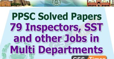 79 Inspectors, SST and other Jobs in Multi Departments