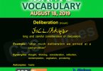 Daily Dawn Vocabulary with Urdu Meaning 17 August 2019 | English Grammar