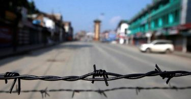Dismantled Kashmir (By Dr. Zeeshan Khan)