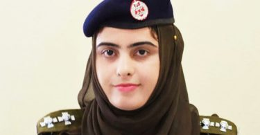 First Female SHO of Pakistan Kalsoom Fatima