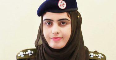 First Female SHO of Pakistan Kalsoom Fatima