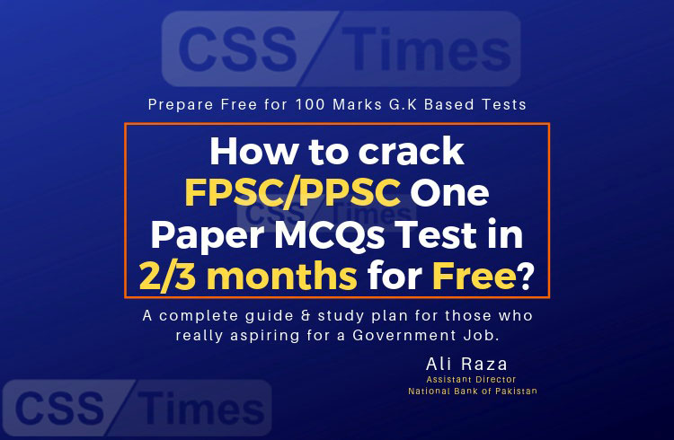 How to Crack Free for 100 Marks FPSCPPSCSPSCKPPSCAJKPSCNTS Tests